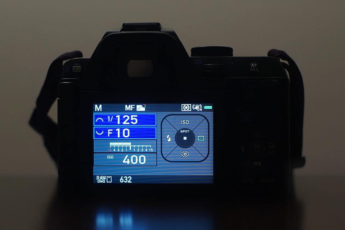 カメラ設定